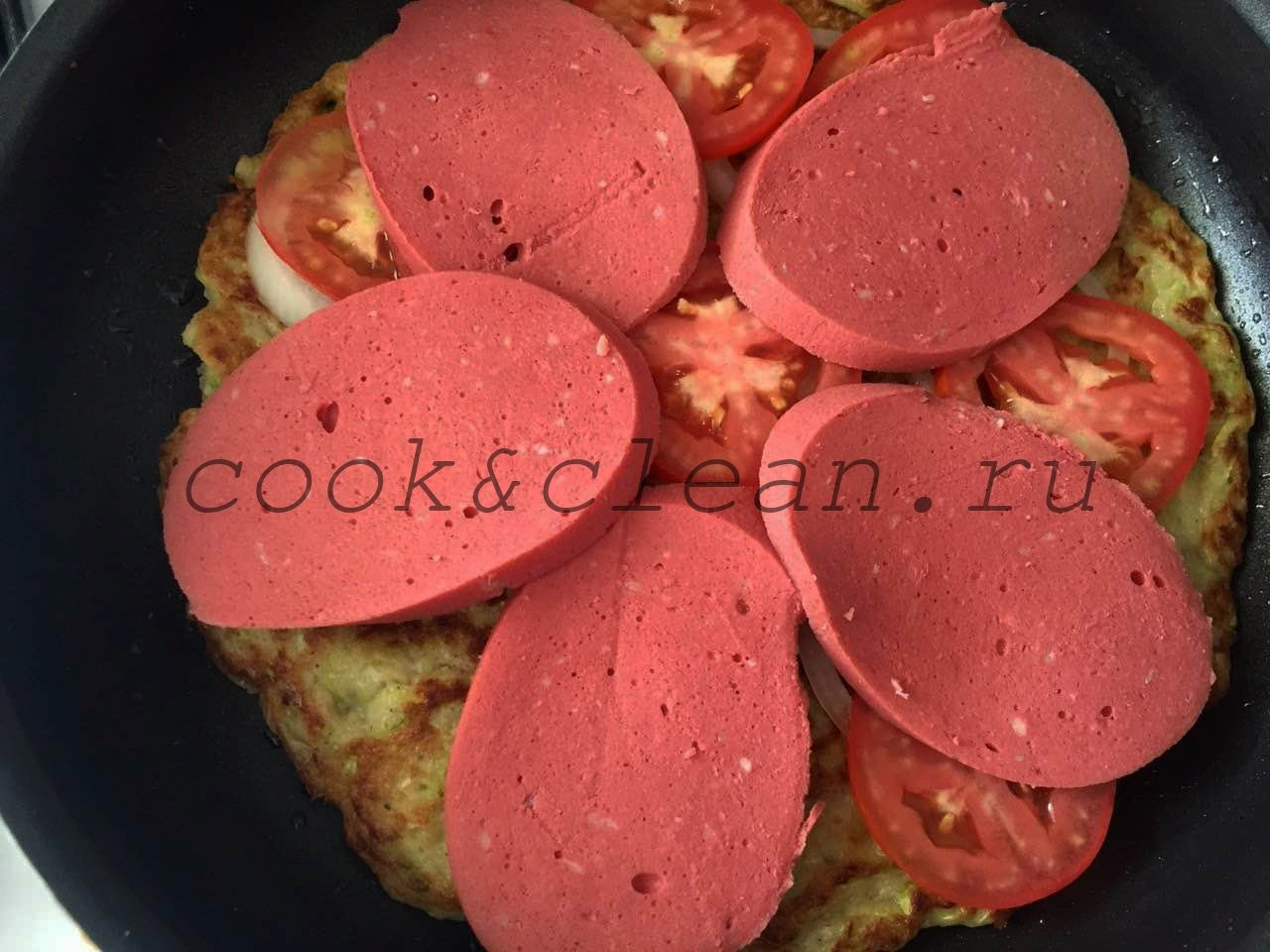 пицца +на кабачковой основе