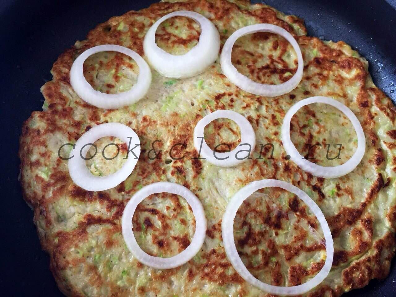 пицца +на кабачковом тесте