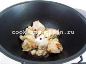 как приготовить курицу в молоке