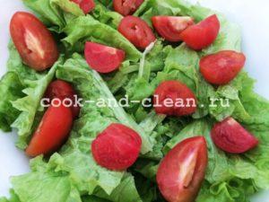 как сделать салать цезарь