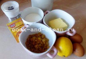 маффины лимонные фото