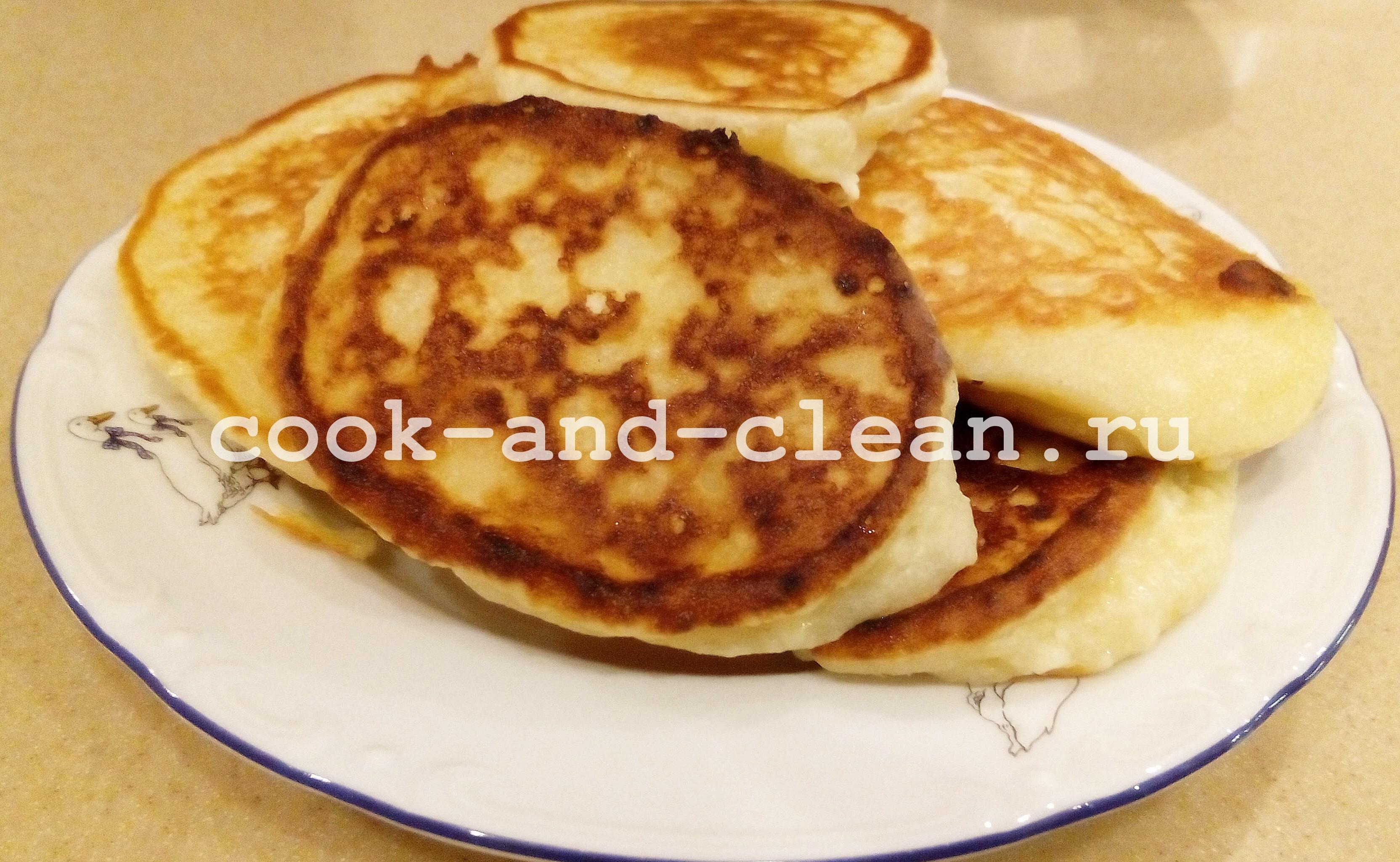 фото сырников на сковороде