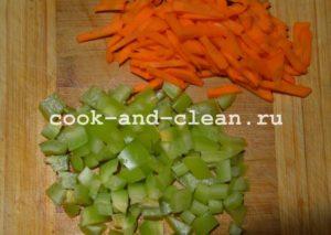 вок с курицей и овощами рецепт