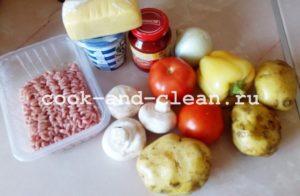 овощная запеканка в духовке рецепты