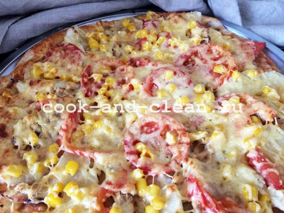 пицца ужин