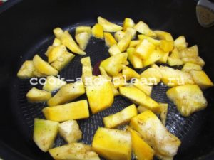 приготовление запеченной тыквы