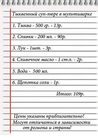 рецепты в мультиварке