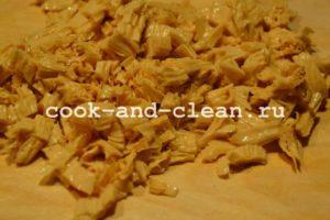 рецепт вкусного салата с зеленым горошком