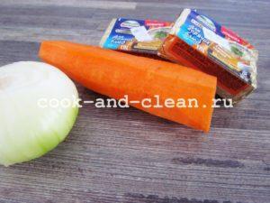 рецепт сырного супа