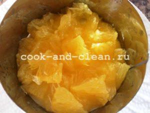 салат апельсин яблоко