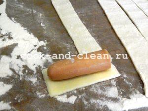 сосиски в тесте рецепт на шпажках