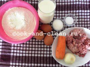 блинчики с фаршем рецепт с фото пошагово