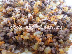 блинчики с фаршем рецепт с фото