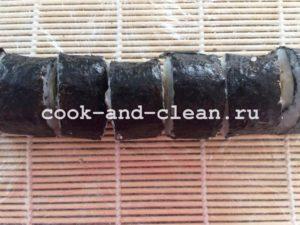домашние запеченные роллы рецепт с фото