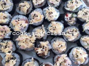 Вкусные роллы с крабовыми палочками - рецепт пошаговый с фото