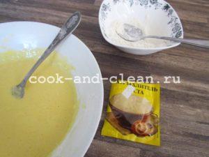 как приготовить заливное тесто для пирога