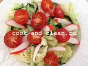 легкий салат из креветок рецепты с фото