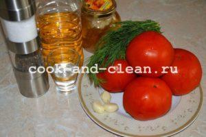 маринованные салат помидоры красные