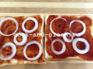пицца в хлебе рецепт с фото