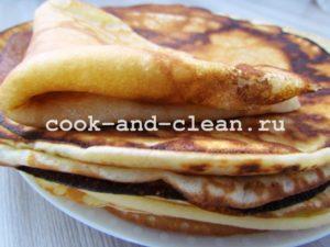 простой рецепт вкусных блинов