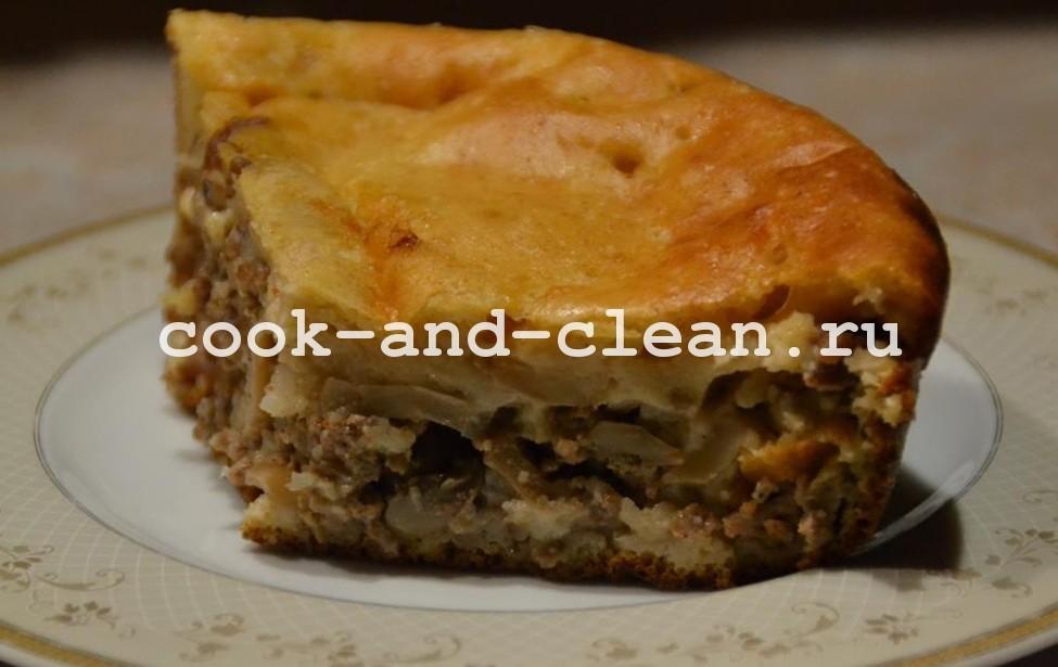 рецепт вкусного заливного пирога на кефире