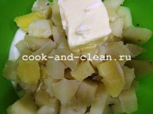 рецепт вкусного картофельного пюре