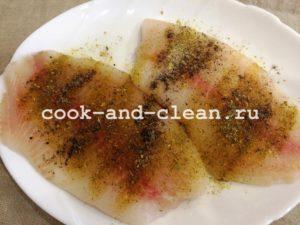 рыба филе рецепт