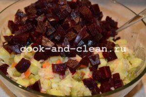 салат винегрет рецепт