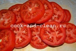 салат маринованные помидоры с чесноком