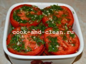 салат с маринованными помидорами рецепт