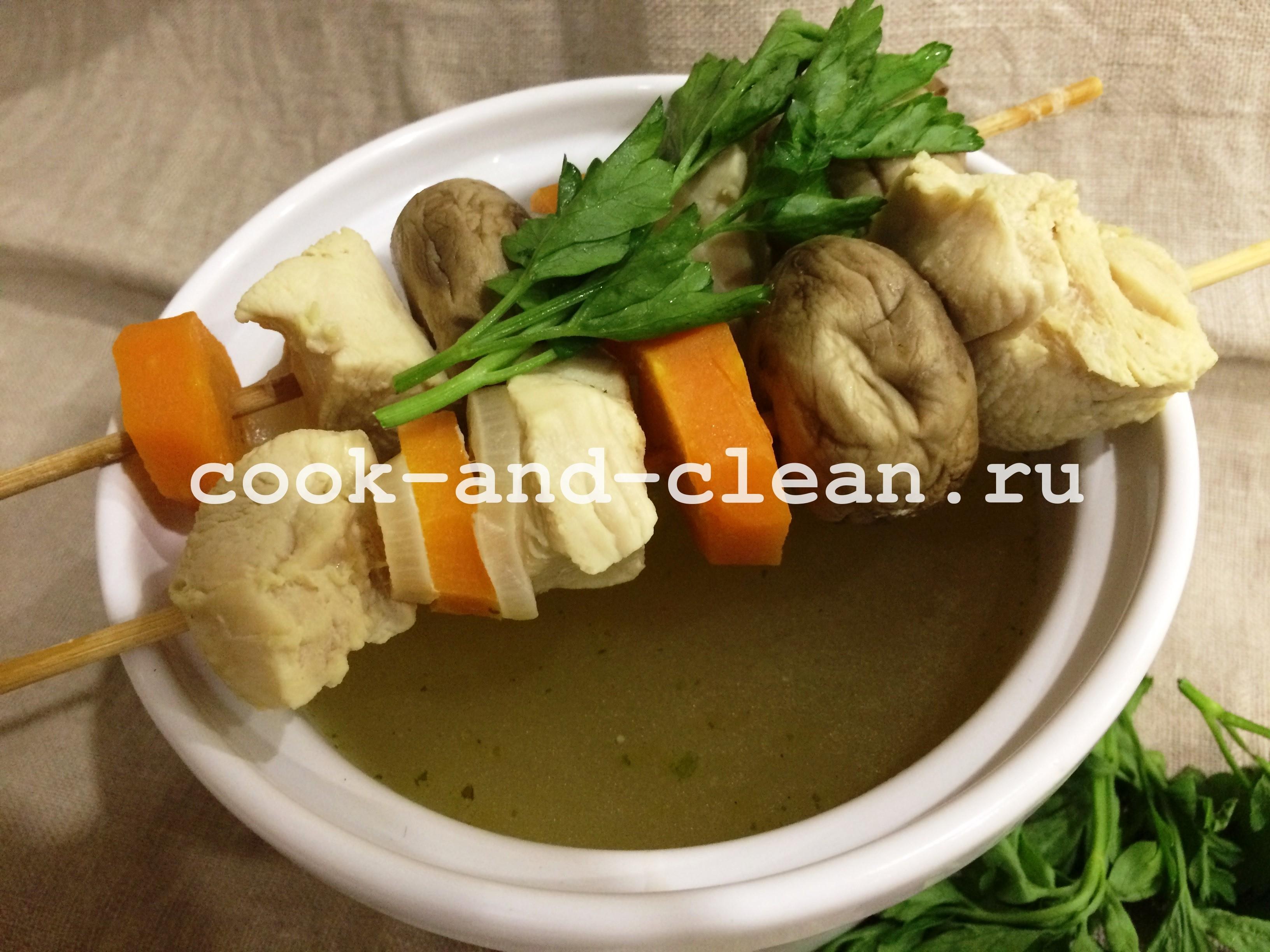 сварить суп на обед