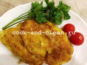 тилапия жареная на сковороде