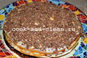 блинные торты рецепты с фото с кремом