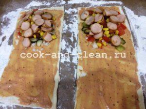 закрытая пицца рецепт в домашних условиях