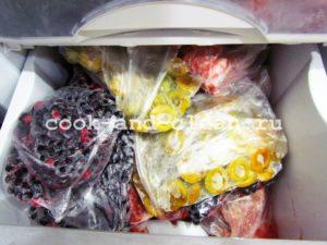 запасы в морозильной камере