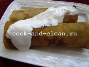 как приготовить блинчики с мясом фото рецепт
