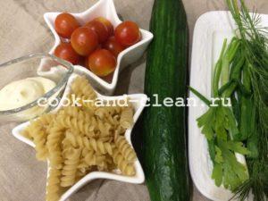 паста салат рецепт
