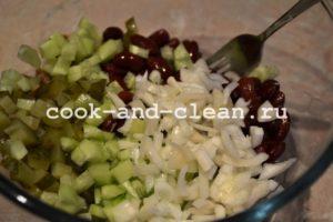 пошаговый салат с тунцом