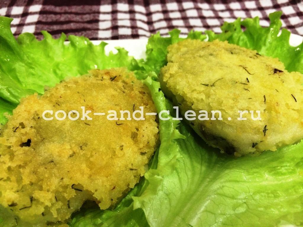 рецепт картофельных котлет с начинкой