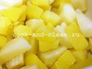 рецепт картофель лаваш