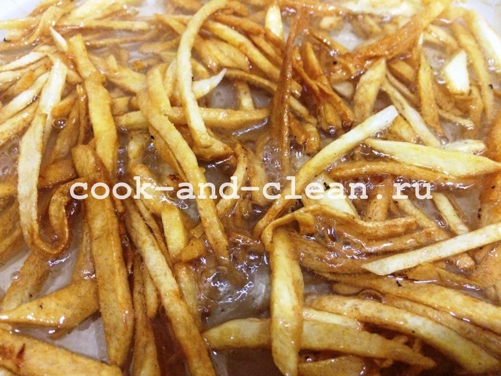 салат с картофелем пай и курицей