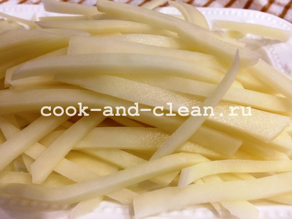 салат с картофелем пай рецепт