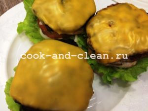 гамбургер в домашних условиях рецепт фото пошагово