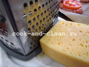 домашние котлеты с сыром