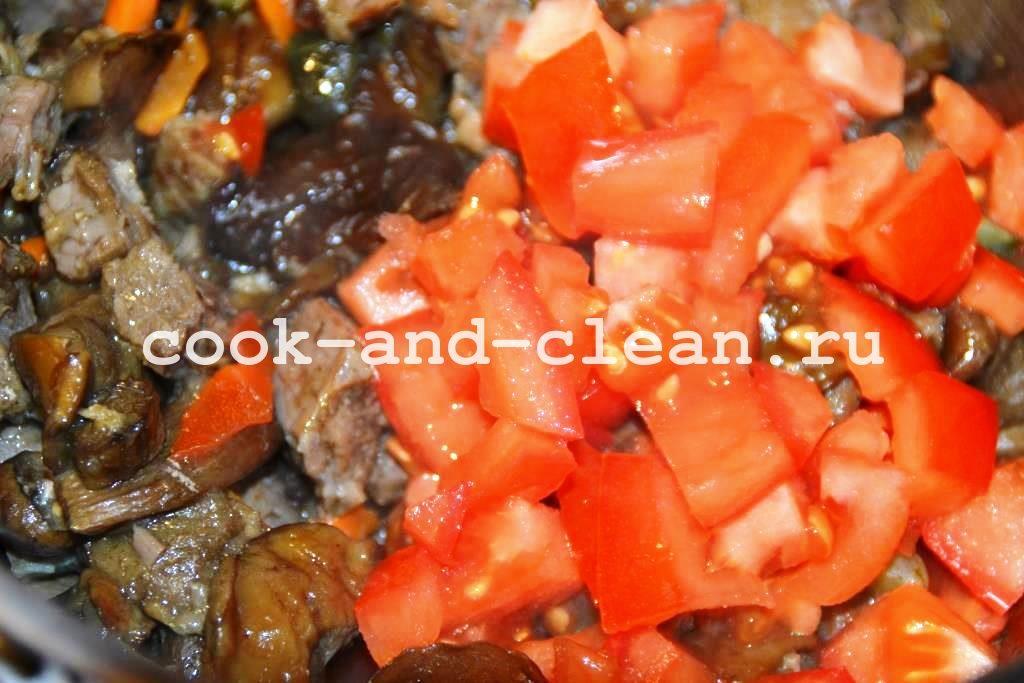 капуста тушеная с грибами рецепт с фото