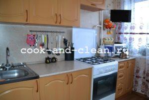 моем кухню