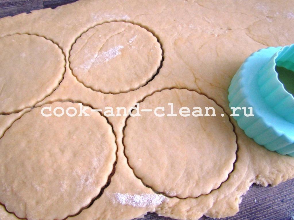 печенья из творога треугольники рецепт с фото