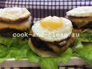 приготовить гамбургер рецепт