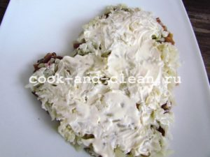 рецепт сельдь под шубой классический с фото