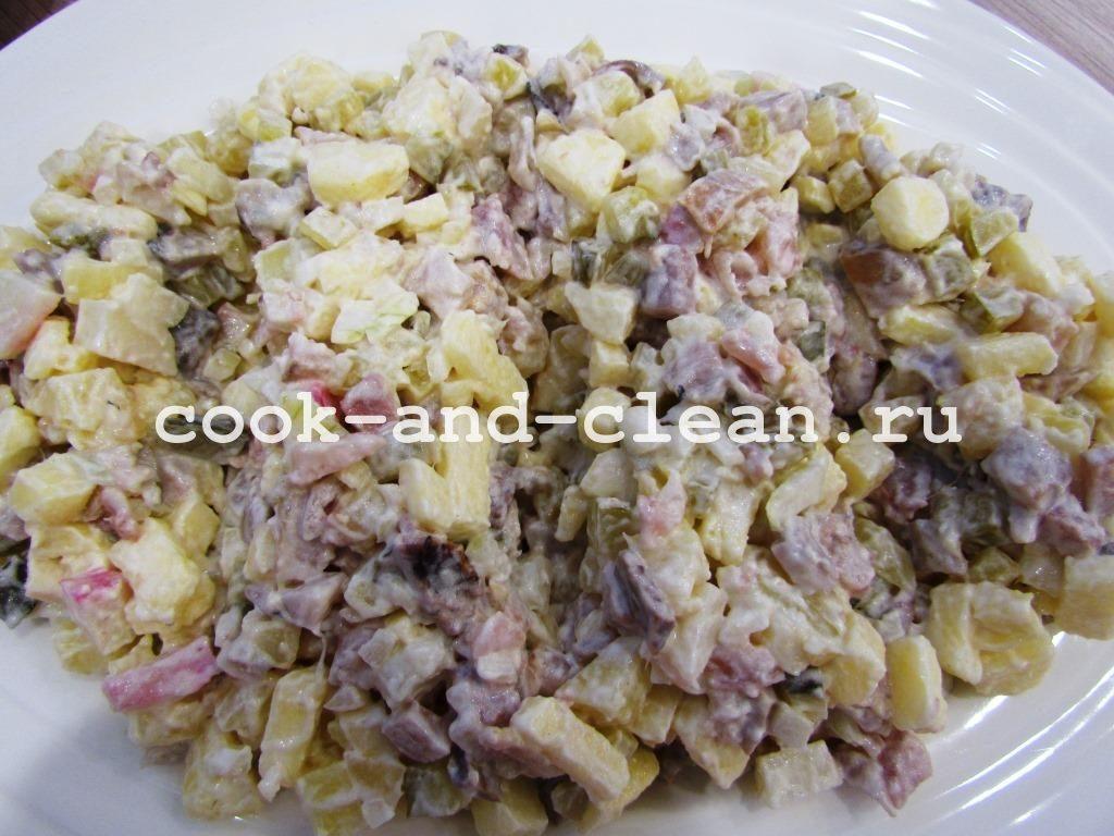салаты с селедкой рецепты простые и вкусные